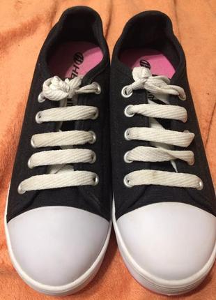 Heelys 770497k fresh x2 wheeled sneaker роликовые кроссовки ролики 21-22.53 фото