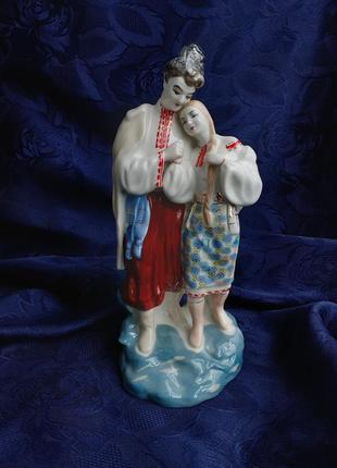 Майская ночь статуэтка ссср советская полонное винтаж фарфоровая