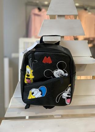 Рюкзак zara, ранець, сумка, портфель mickey mouse zara