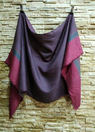 Мужской шелковый шарф