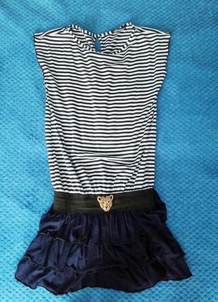 Крутое летнее платье - морячка