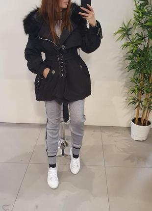 Крутая куртка парка. италия, бренд j-clair.