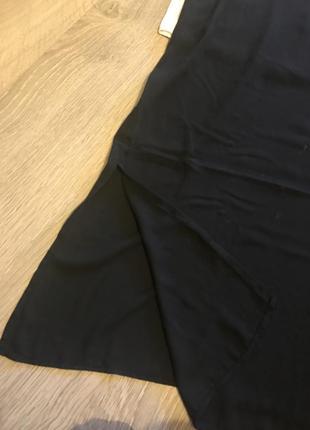 Очень стильное шифоновое платье в бельевом стиле !2 фото
