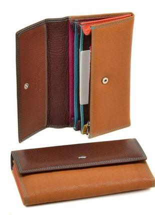 Стильный облегченный кожаный кошелек