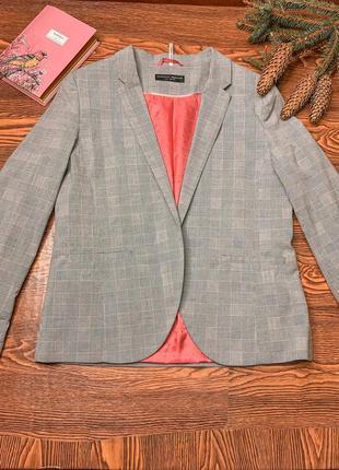 Пиджак,женский пиджак, пиджак в клетку