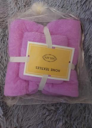 Комплекты полотенец для бани