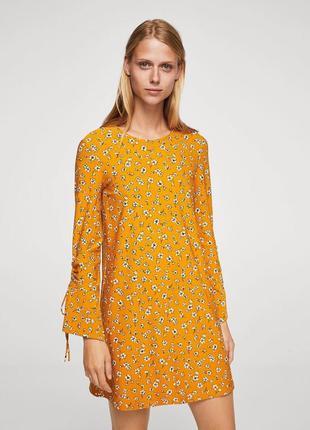 Сукня в квітковий принт