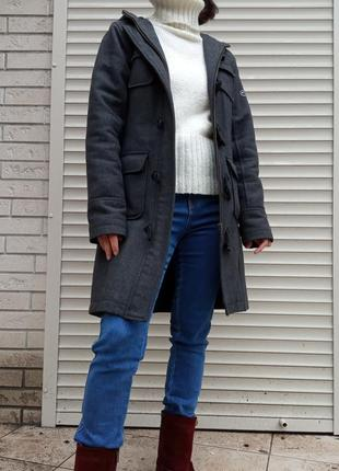 Демисезонное утепленное пальто дафлкот, duffle coat, от for cool cat