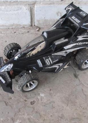 Машинка монстр racing на амортизаторах