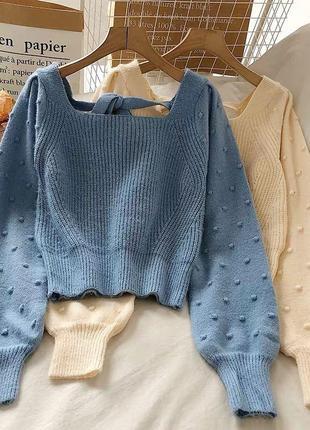 Шерстяной свитер ❤️