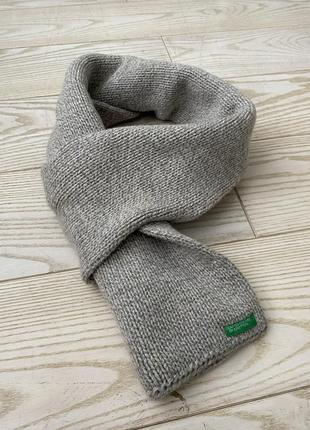 Вязанный шарф benetton