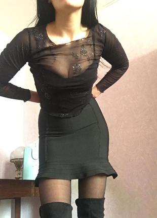 Платье и сетка pretty