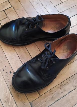 Ботинки оксфорды dr. martens