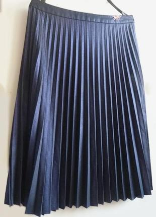 Фирменная плиссированная юбка. юбка плиссе.