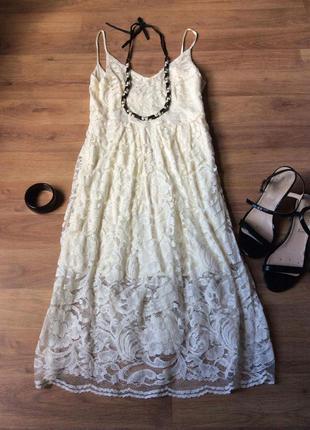 Ніжна сукня h&m
