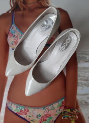 Нюдовые туфли, лодочки,  свадебные