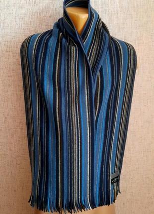 Классический мужской шарф john lewis шерсть германия1 фото
