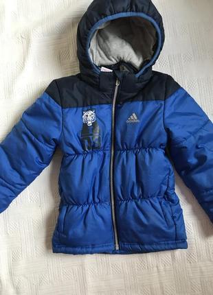 Adidas куртка зимняя тёплая