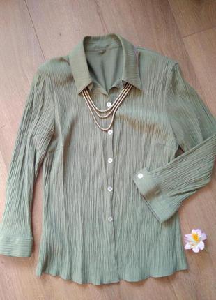 Блуза с 3/4 рукавом