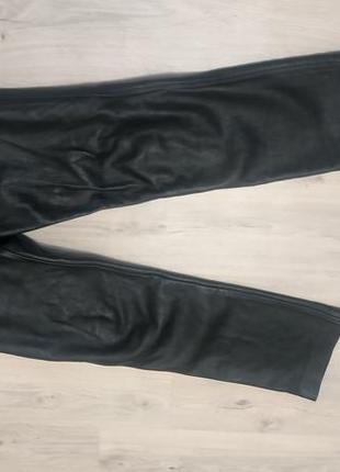 Шкіряні байкекські штани 34