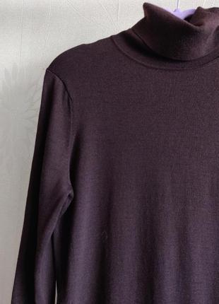 Мягкий шерстяной гольф свитер