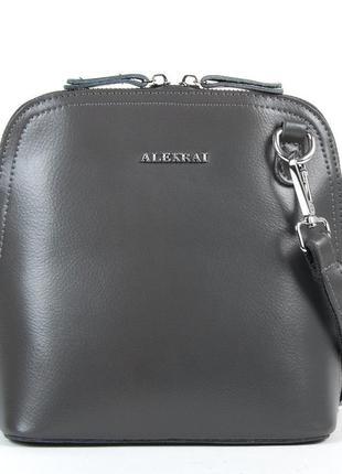 Стильный женский кожаный клатч от alex rai
