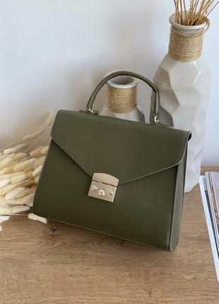 Вместительная сумка цвета хаки lm3070-2