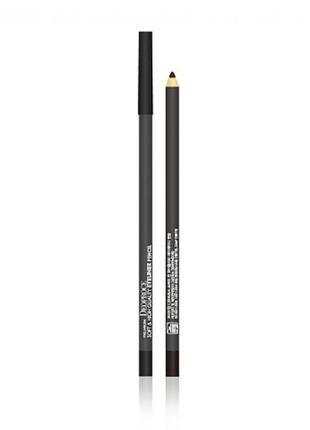 "Мягкий карандаш для век ""черный"" premium deoproce soft and high"