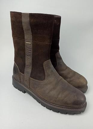 Зимние кожаные сапоги bama размер 45 (29,5 см.)