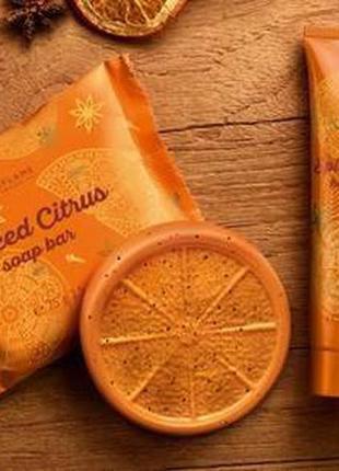 Набор «пряный цитрус» (крем для рук + мыло)