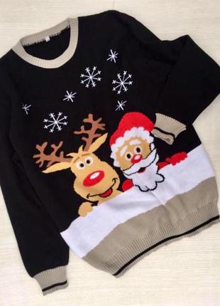Классный новогодний свитер