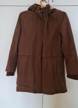 Теплюще зимове пальто nafnaf