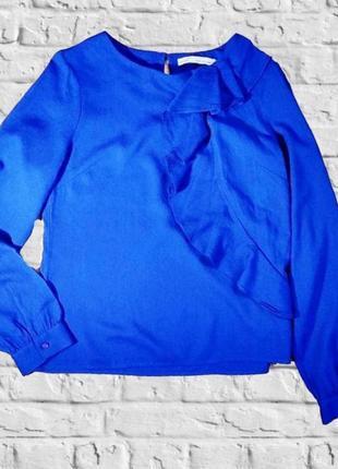 Шикарная блуза с воланом, next