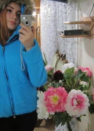 Зимовая курточка с: