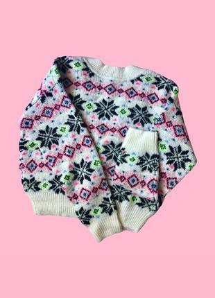 Двусторонний зимний свитер victoria's secret pink