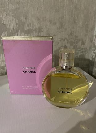 Оригинал chanel chance edt туалетная вода 50мл