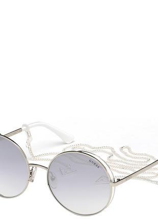 Очки солнцезащитные с градуированными зеркальными линзами guess (гес) pgu7606-20c57