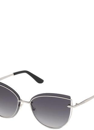 Очки женские солнцезащитные с градуированными линзами guess pgu7617-10b59