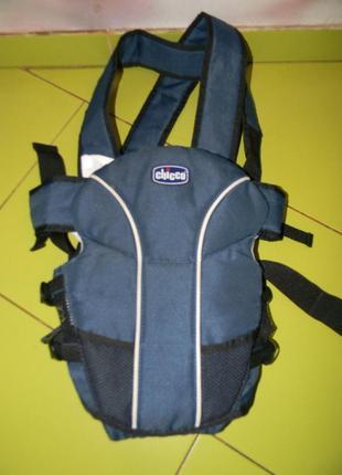 Кенгурушка -кенгуру-сумка chicco для малышей до 9 кг