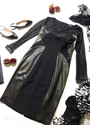Шикарное итальянское 👗 платье размер 12/38/m