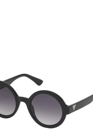 Очки женские солнцезащитные с градуированными линзами guess pgu7613-01b50