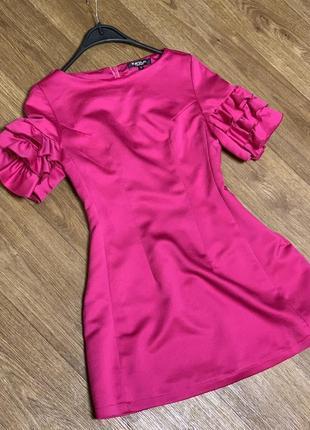 Коктейльное, вечернее платье с корсетом