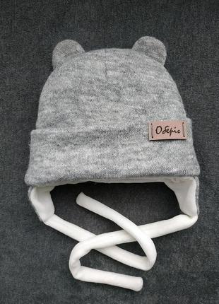 Зимняя,деми шапка