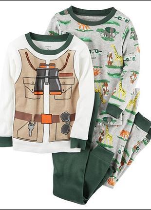 Пижама картерс сафари 3т
