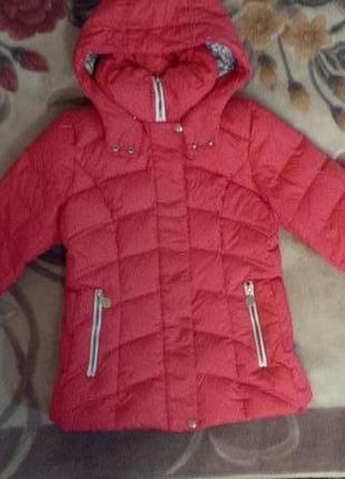Фирменная зимняя куртка, пуховик avecs.