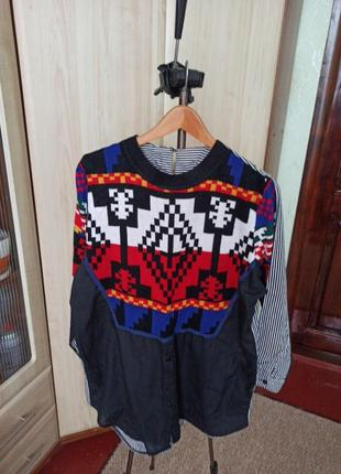 Кофта рубашка свитер