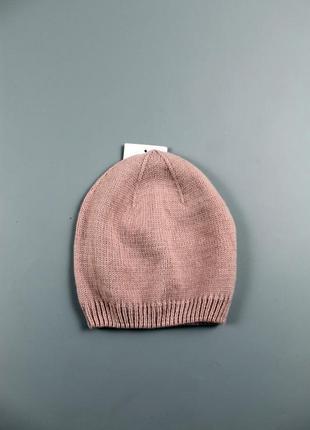 Вязана шапка с&a
