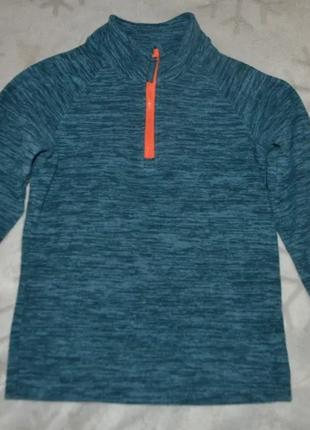 Флисовый свитер mountain warehouse 7-8 лет рост 122-128 англия