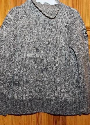 Mexx милый теплый вязаный свитер на рост 92 см.