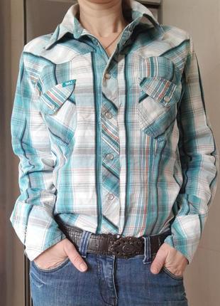 Фирменная рубашка сорочка женская